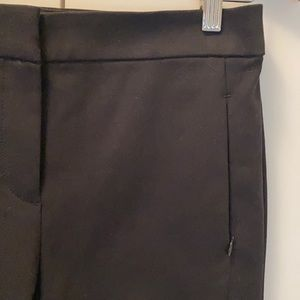 Loft High Waist Skinny Crop Pant-Black